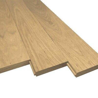 £2400 • Buy Solid Oak T And G Flooring New Collection Stow On The Wold 30 Sq Meters