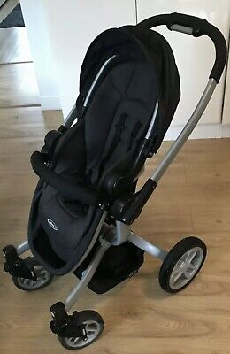 Graco Symbio Black &Dk Grey Travel System, • 20£