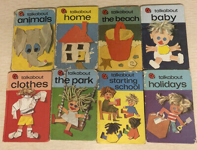 Vintage Ladybird Talkabout Books Series 735 Set Of 8 • 3.99£