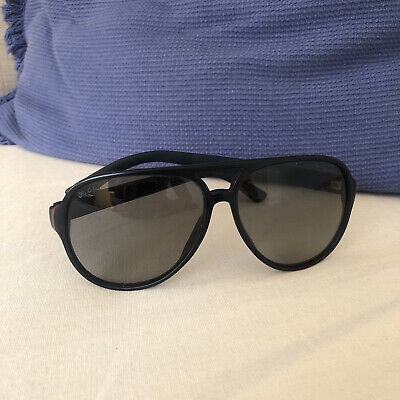 AU10 • Buy Authentic Gucci Mens Black Sunglasses (Could Be Used As Unisex Also)