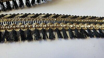 3 Yards Latest Handcrafted Tassel Trim Dupatta Lampshade Work Trim Edging • 3£