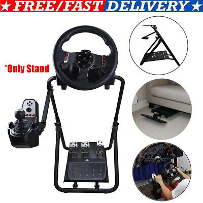 Racing Simulator Steering Wheel Stand For LogitechG29G920 Thrustmaster PS3 Xbox • 64.99£