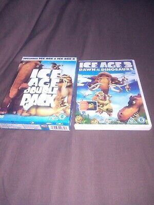 Ice Age/Ice Age 2 - The Meltdown (DVD, 2006, 2-Disc Set, Box Set) And Ice Age 3 • 0.99£