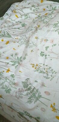 Single Duvet Cover Wildflowers Botanical Ikea • 3£