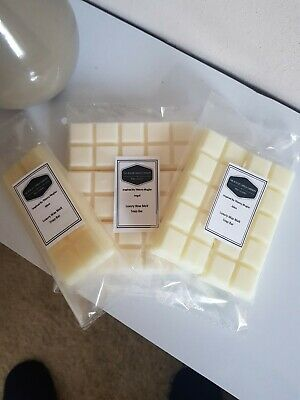 Highly Scented Designer Soy Wax Melt Snap Bar 90 + Fragrances Available • 2.49£