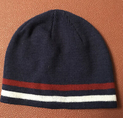 Peter Storm Navy Woolley Hat Small/ Boys • 3.50£