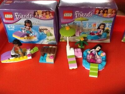 4 Small Sets Of Lego Friends, 41000, 3931, 3930, 41088. All Complete With Boxes  • 15£