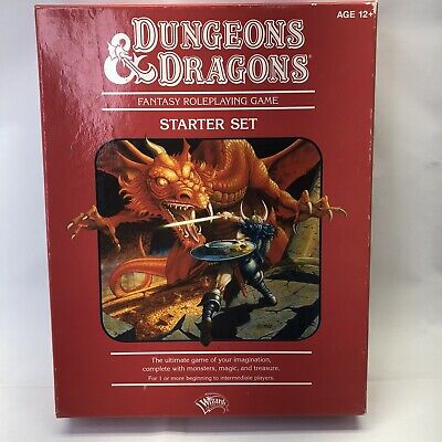 AU43.13 • Buy Dungeons & Dragons Starter Set Board Game D & D, Used, Includes 6 Dice