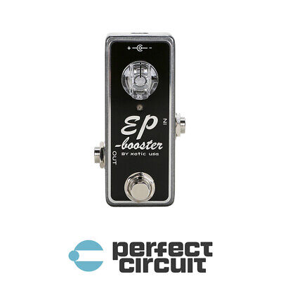 Xotic EP Booster Guitar Pedal EFFECTS - NEW - PERFECT CIRCUIT • 84.49£