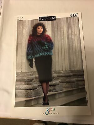 "Ladies Sweaters Knitting Patterns In Mohair ,26 - 38"" • 0.90£"