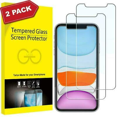 £2.99 • Buy Gorilla Tempered Glass Screen Protector For New IPhone 12 11 13 Pro XR Max Cover