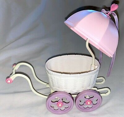 Vintage 1980s My Little Pony BUGGY Stroller Carriage For Baby CUDDLES HASBRO  • 9.98£