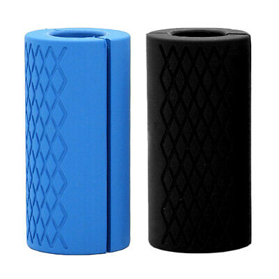 AU20.51 • Buy 2Pcs Fat Dumbbell Barbell Grips Gym Weight Lifting Muscle Builder Hand Turns