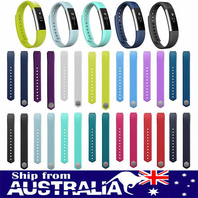 AU5.99 • Buy AU New Replacement Silicone Watch Band Wrist Strap For Fitbit Alta Tracker L/S G