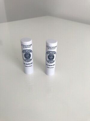 Loccitane Ultra Rich Lip Balm X 2 • 12£