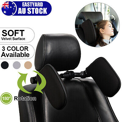 AU45.99 • Buy Adjustable Car Seat Headrest Pillow Car Travel Headrest Pillow Kids Head Support
