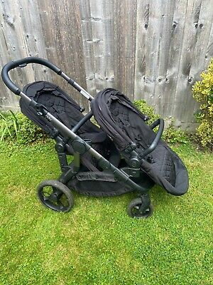 Icandy Orange Twin Pushchair In Charcoal • 139£