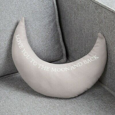 Bambino Cot Bed Cushion Love You To Moon And Back Baby Shower Newborn Nursery • 8.99£