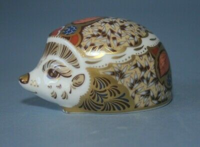 £52 • Buy Royal Crown Derby, Bramble Hedgehog Paperweight, Gold Stopper With Box.