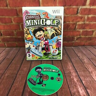 Carnival Games Mini Golf Nintendo Wii Game *Tested And Working* Free Postage • 7.99£