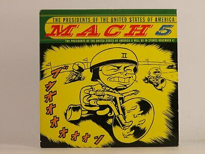THE PRESIDENTS OF THE UNITED STATES OF AMERICA MACH 5 (F41) 1 Track Promo CD Sin • 3.29£