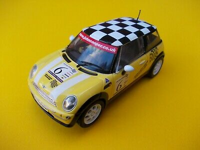 Scalextric C2485 Bmw Mini Cooper In Near Mint Condition With Fr/ Rear Lights   • 20.99£