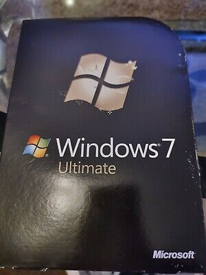Microsoft Windows 7 Ultimate 64 Bit & 32 Bit DVD's • 38£