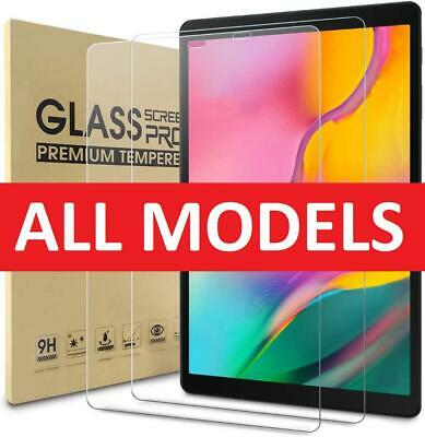 £3.99 • Buy Tempered Glass Film Screen Protector For Samsung Galaxy Tab A 10.1 A7 S7 S6