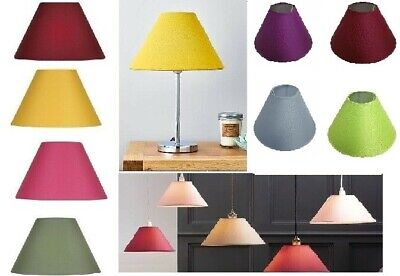 £10.99 • Buy Stylish & Modern Cotton Fabric Coolie Ceiling Light Shade & Table Lampshade