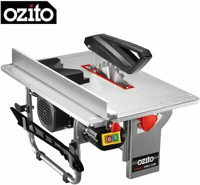 Ozito Table Saw 200mm 800W TSB-0808U Blade Adjustment Dust Extraction Port • 129.99£
