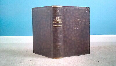 The Vicar Of Wakefield And Poems By Oliver Goldsmith Antique Book, Odhams Press • 5£
