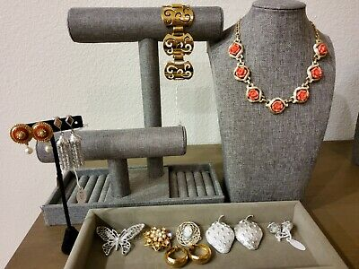 $ CDN56.80 • Buy Vintage Sarah Coventry Jewelry Lot Of 11 Necklace Earrings Bracelet Brooches