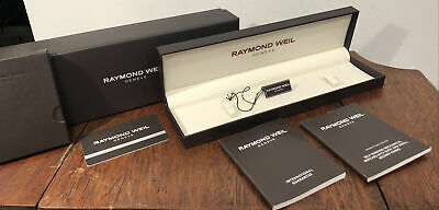 $ CDN18.93 • Buy New! Authentic RAYMOND WEIL Watch Bracelet Presentation Box