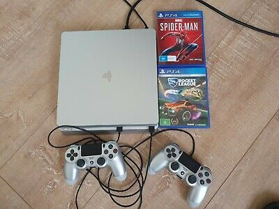 AU299 • Buy Sony PS4 Slim 500GB Console + 2 Controllers & 2 Games