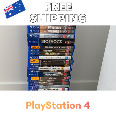 AU25 • Buy PS4 Games | Select Your Titles - Sony PlayStation 4 | Cheap- Free Fast Delivery