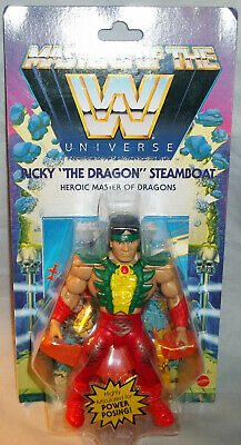 $27.99 • Buy WWE MOTU Masters Of The Universe RICKY  THE DRAGON  STEAMBOAT Wave 5 - BRAND NEW