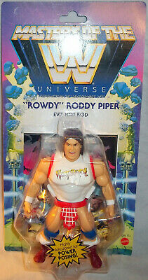$27.99 • Buy Wwe Masters Of The Universe Wave 5 - Rowdy Roddy Piper - Motu - Brand New! 2021!