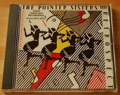 £15 • Buy The Pointer Sisters - Retrospect - MCA Records Label CD MCD03275 / MCAD3275