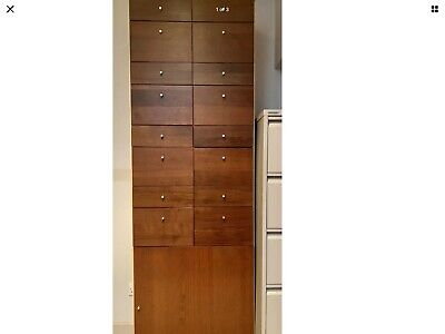 Drawer Wooden Cabinet Unit Storage Very Nice Strong High Quality RRP £1500 • 150£