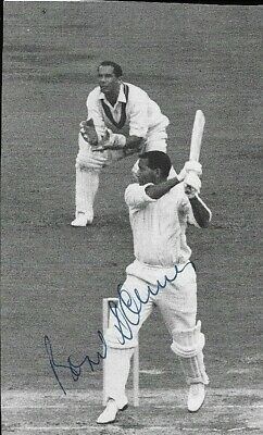 Basil D'OLIVEIRA (1931-2011), Worcestershire & ENGLAND, Cap#432, Signed Picture  • 3.99£