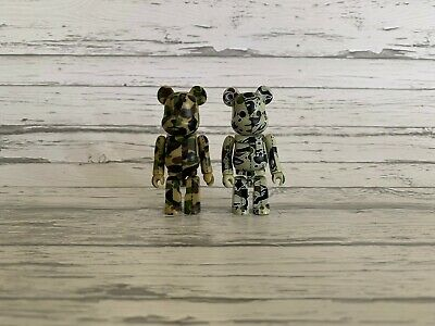 $150 • Buy RARE 100% Bape Bearbrick Lot Of 2