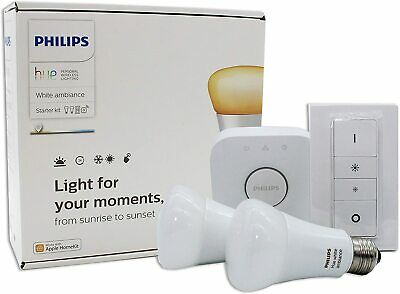 AU109 • Buy Philips Hue White Ambiance Starter Kit Edison Screw E27 Includes Bridge + Remote