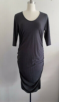 AU40 • Buy Ripe Maternity Cocoon Dress In Charcoal, Size XL.