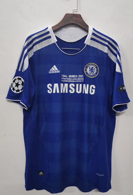 Chelsea 2011 2012 Drogba #11 UCL Champions League Final Retro Jersey • 26.47£