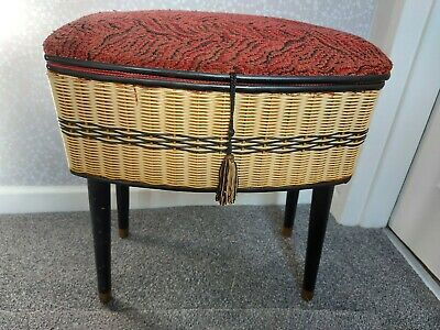 £27 • Buy Vintage Sewing Stool And Contents