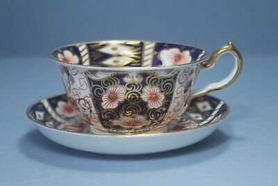 Antique Royal Crown Derby Imari Cup And Saucer 2451 • 47£