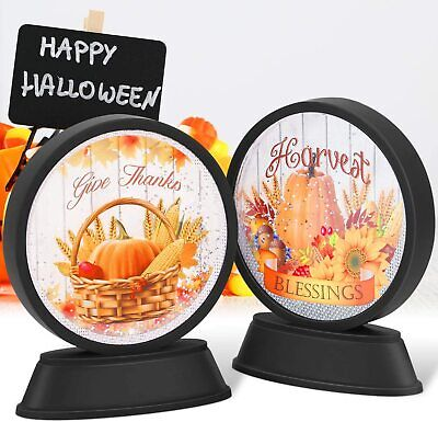 $ CDN24.55 • Buy Halloween Decorations Lights With Water Decor LED Indoor For Party 2Pack