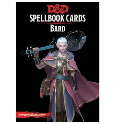 AU30.07 • Buy Dungeons And Dragons Bard Spell Deck Revised Board Game