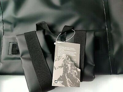Swiss Peak - Large Duffle Bag With Water Bottle Pvc Free Black Sport Travel New • 5£