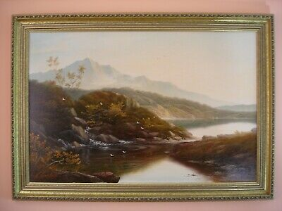 Mountain Landscape  - Oil Painting On Canvas - Andrew Grant Kurtis • 395£